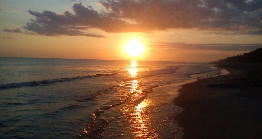 Morsowanie o wschodzie słońca - Władysławowo