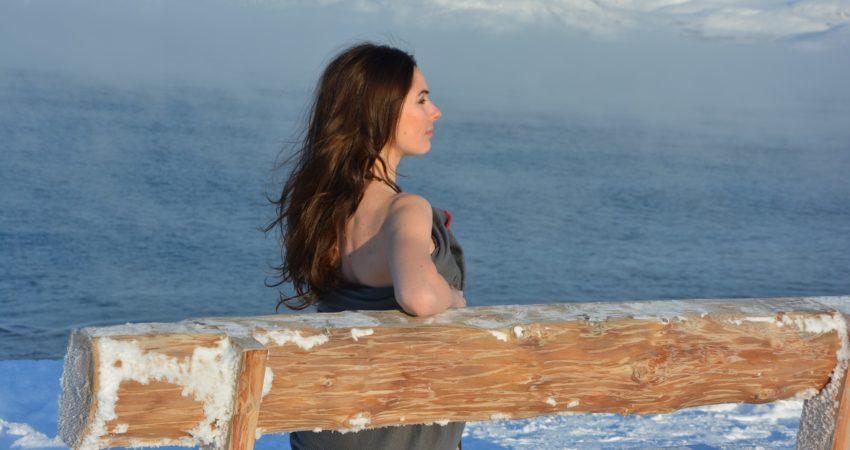 kobieta morsująca